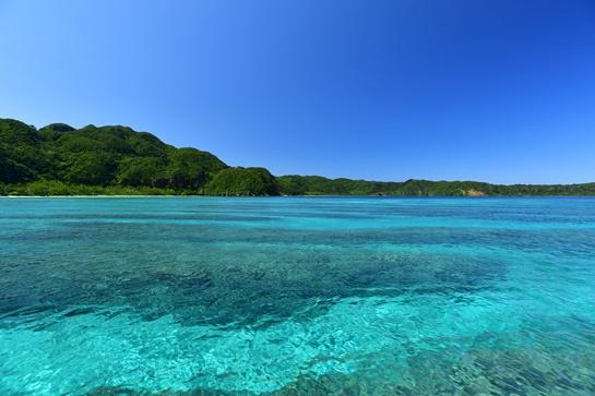 西表島イダの浜で遊ぼう